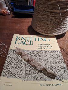 Knitting Lace book