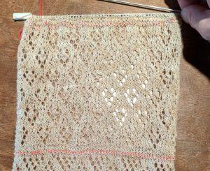 Knit Lace Pattern Four