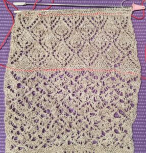 Knit Lace Patterns 11 and 12